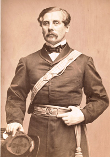 Brigidier General Thomas Francis Meagher of the famed Irish Brigade
